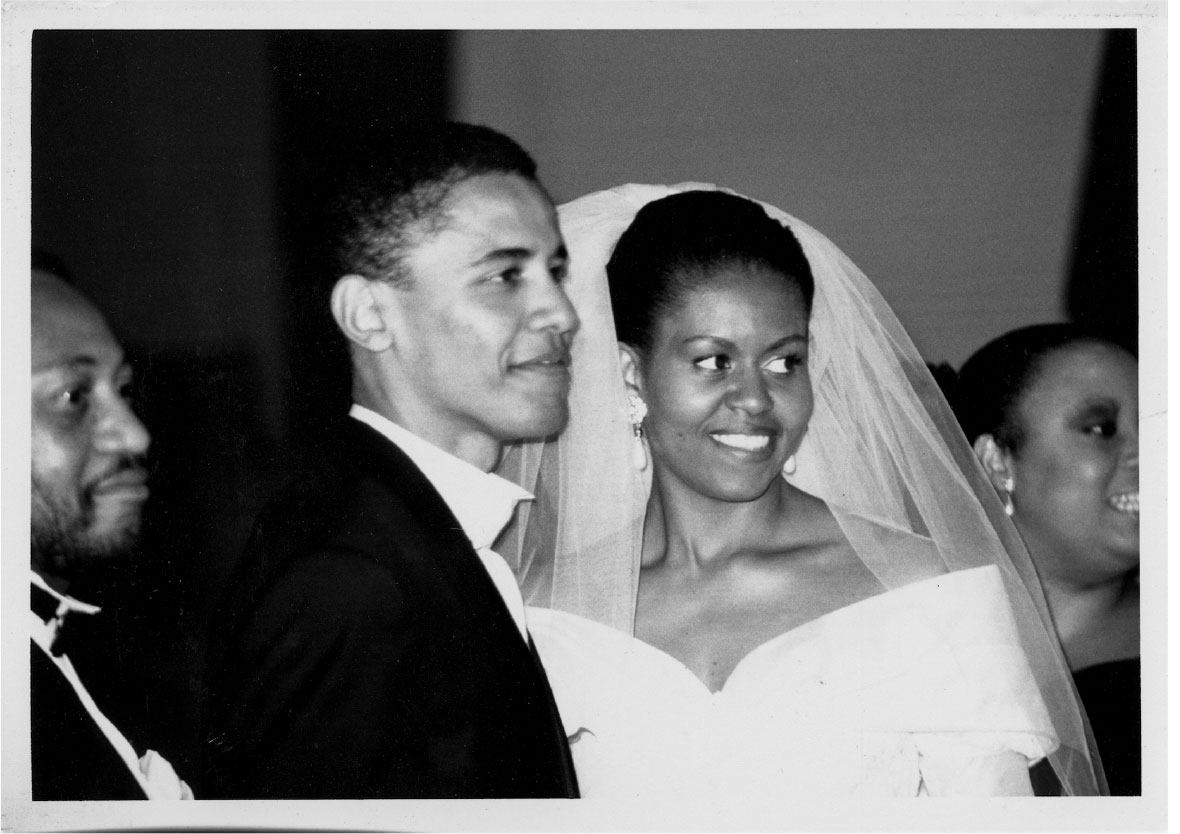 Michelle och Barack Obama